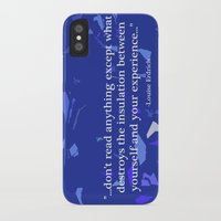 read iPhone & iPod Cases featuring Read. by Audrey Erickson