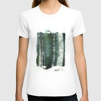 birch T-shirts featuring birch trees by hannes cmarits (hannes61)
