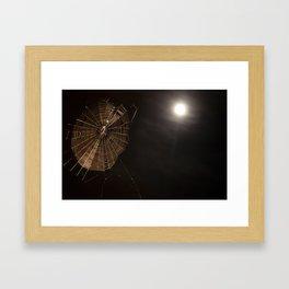 Golden Thread Framed Art Print