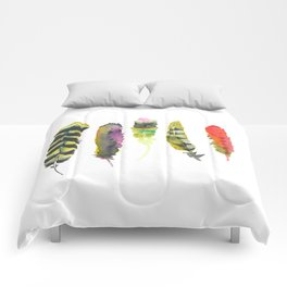Fall like a Feather Comforters