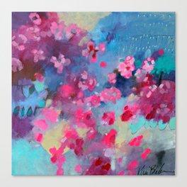 Cherry Blossom Weather Canvas Print