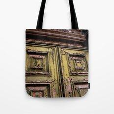 Green Door 2 Tote Bag