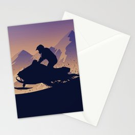 Snowmobile • My Passion Stationery Cards