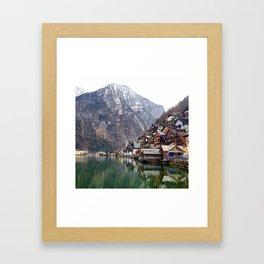Hallstatt, Austria Framed Art Print
