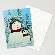 Christmas card 2 Stationery Cards