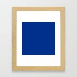 Air Force Dark Blue Framed Art Print