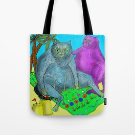 Pussy Paradise Tote Bag