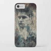 dean winchester iPhone & iPod Cases featuring Dean Winchester by Sirenphotos