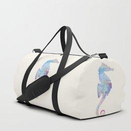 AFE Watercolor Seahorse Duffle Bag