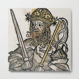 Atilla, King of the Huns Metal Print