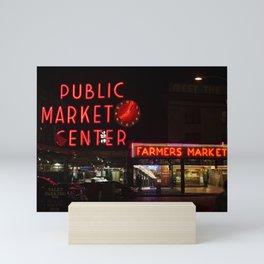 Public Market Mini Art Print