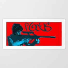 FOCUS INTENT Art Print