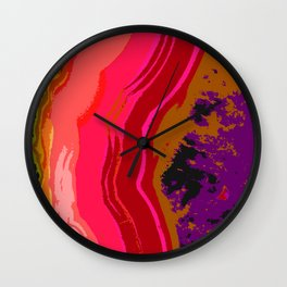 Agate Wall Clock