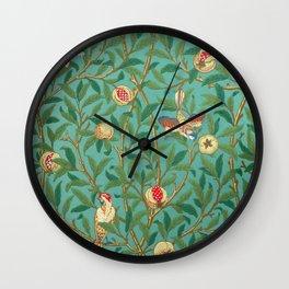 "William Morris ""Bird & Pomegranate"" 2. Wall Clock"