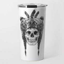 Dead shaman (b&w) Travel Mug