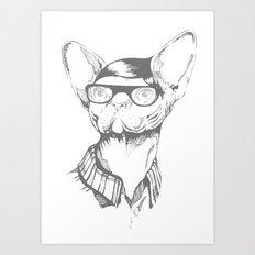 Gatopasta Art Print