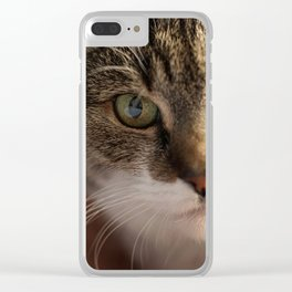 Look me in the Eyes! Clear iPhone Case
