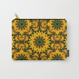 Floral mandala-style , California Poppies 004.1 Carry-All Pouch