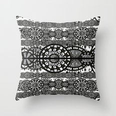 Membranes Throw Pillow