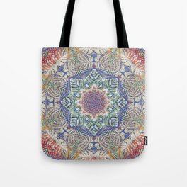 Jungle Kaleidoscope Tote Bag