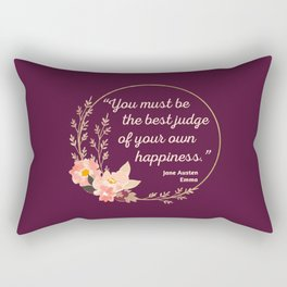 Emma By Jane Austen Quote I - Cute Style Rectangular Pillow