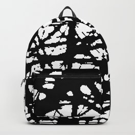 tension, black and white Backpack