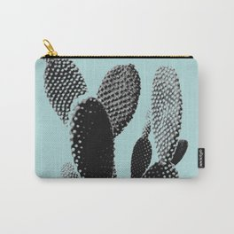 Cactus in blue Carry-All Pouch