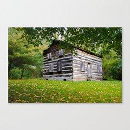 Fall House Canvas Print