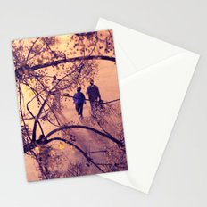 Over the city Stationery Cards