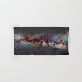 The Milky Way: from Scorpio and Antares to Perseus Hand & Bath Towel