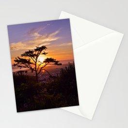 Kalaloch Beach Sunset Stationery Cards
