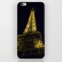 Eiffel Tower @ Night iPhone Skin