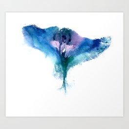 Isabella's Vulva Flower Art Print