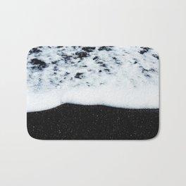 Black Sand Beach Bath Mat