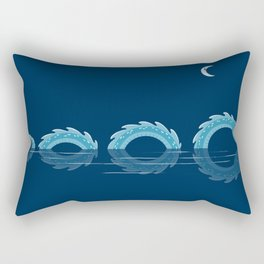 narcissistic nessie Rectangular Pillow