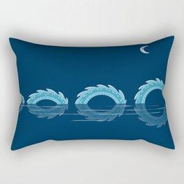 narcissistic nessie Rectangular Pillow