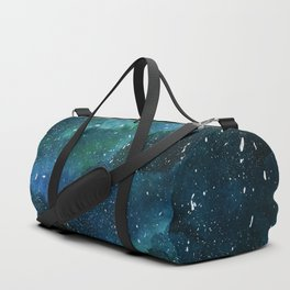 Emerald Galaxy Duffle Bag