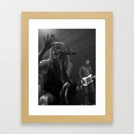 passionate Gracie Framed Art Print