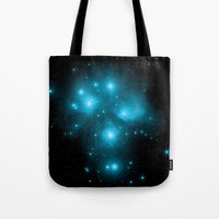 constellation Tote Bags featuring Constellation by 2sweet4words Designs