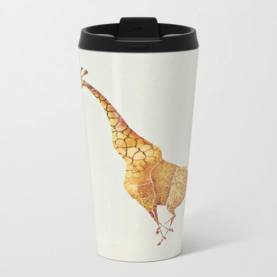 Giraffe Metal Travel Mug