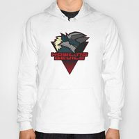 monster hunter Hoodies featuring Monster Hunter All Stars - Howling Devils by Bleached ink