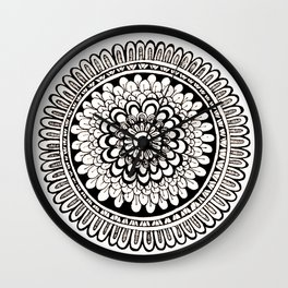 Mandala 01 Wall Clock
