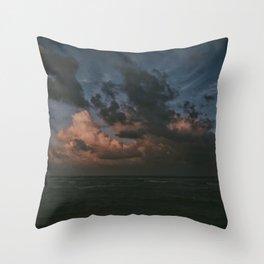 Sunset In Kauai Throw Pillow