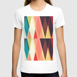 Abstract geometric art T-shirt