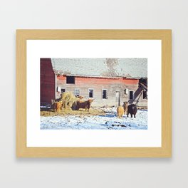 Old McDonald Had a Farm Framed Art Print