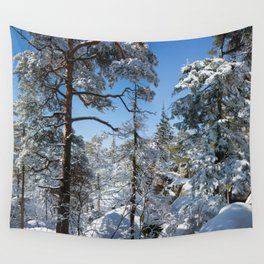 Winter in March Wall Tapestry