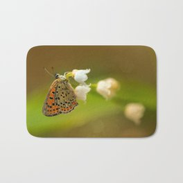 Lily of the valley Bath Mat