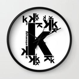 KAFKAESQUE Wall Clock