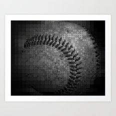 Baseball Deco Art Print