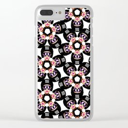 Best Dressed Boarders— The Glamorous Gang - Icon Clear iPhone Case